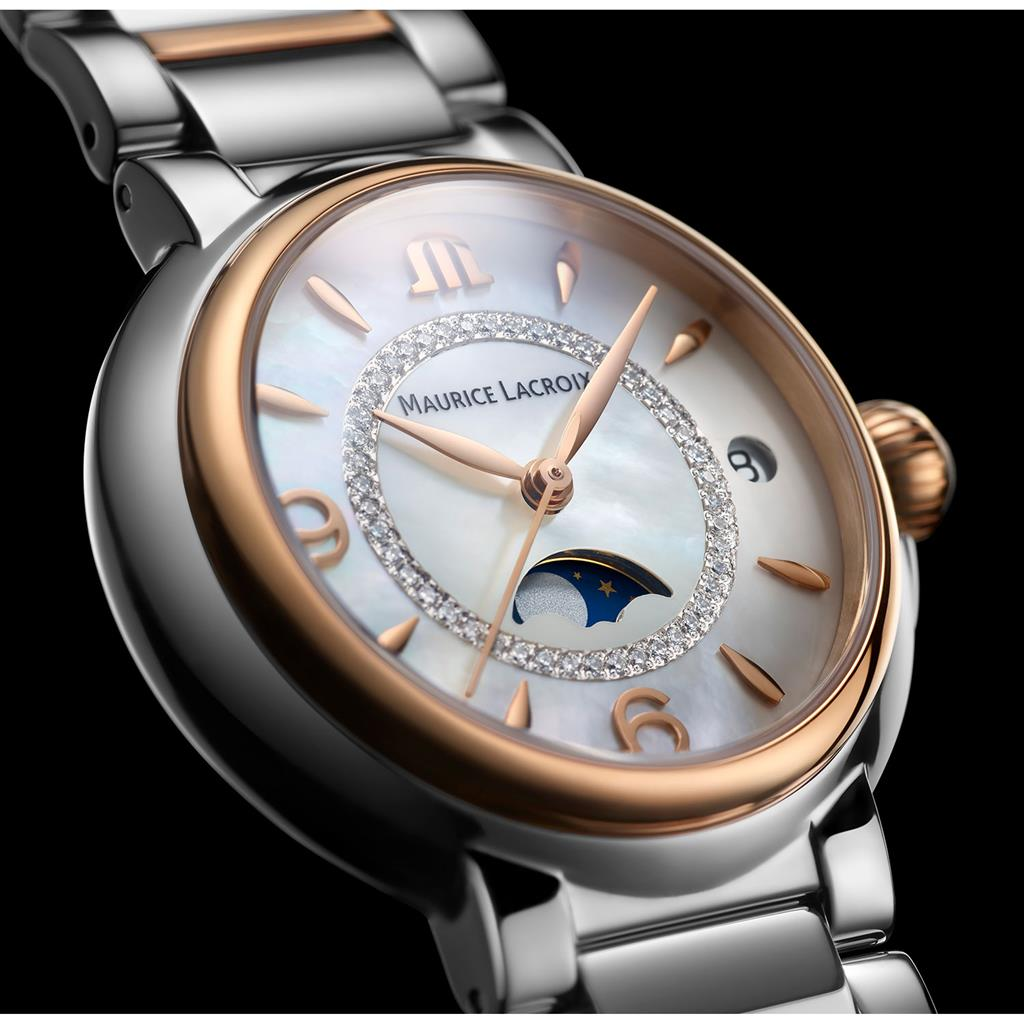 MAURICE LACROIX FIABA MOONPHASE 32MM 3ATM 46 DIA.