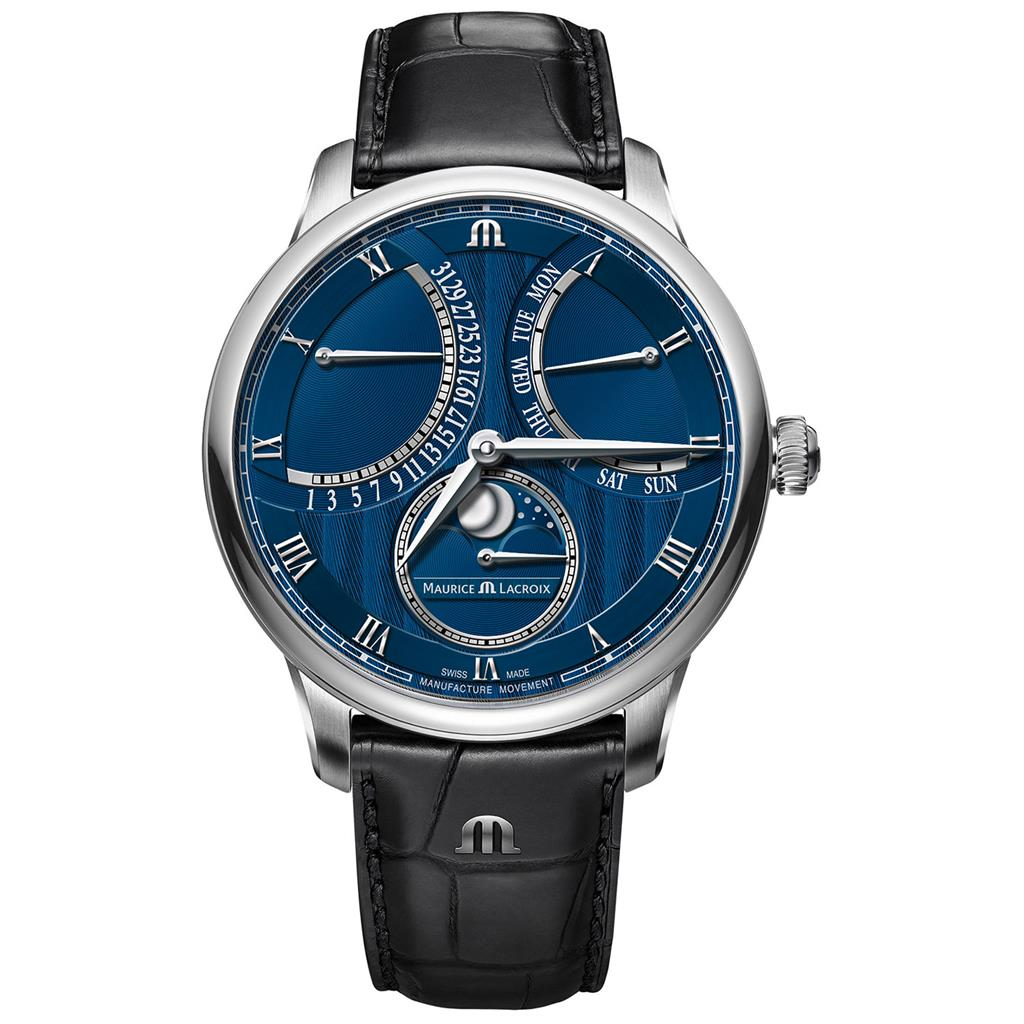 MAURICE LACROIX MASTERPIECE MOON DOUBLE RETROGRADE