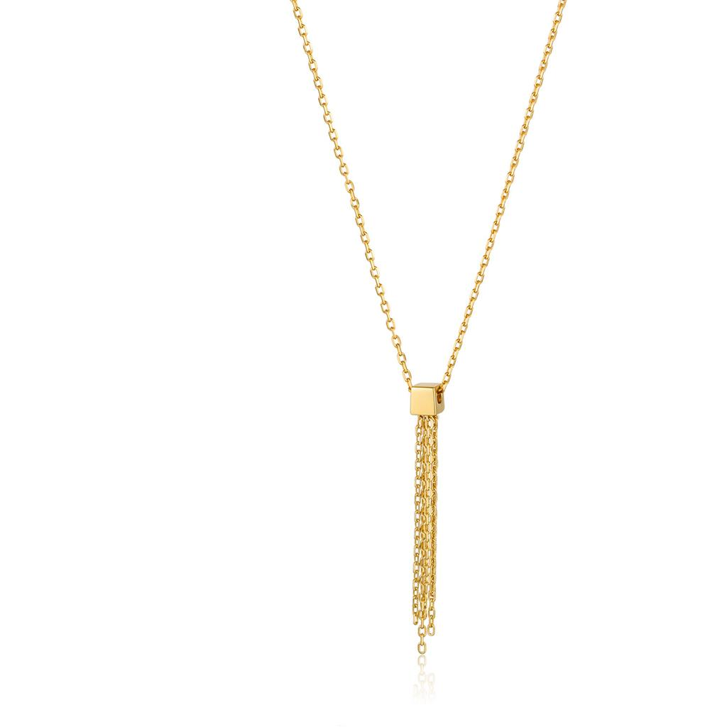 ANIA HAIE TASSEL DROP NECKLACE 925S