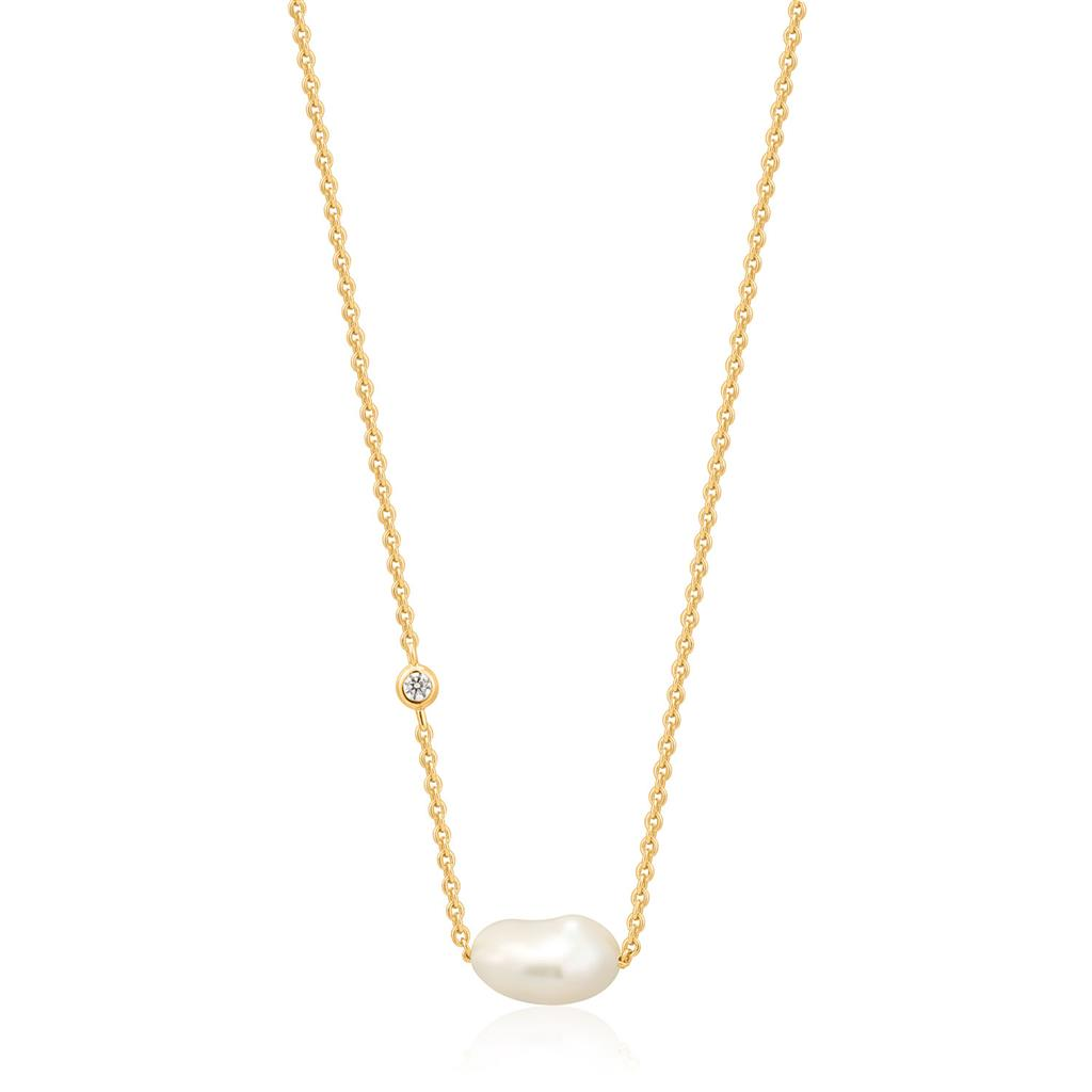 ANIA HAIE PEARL NECKLACE 925S