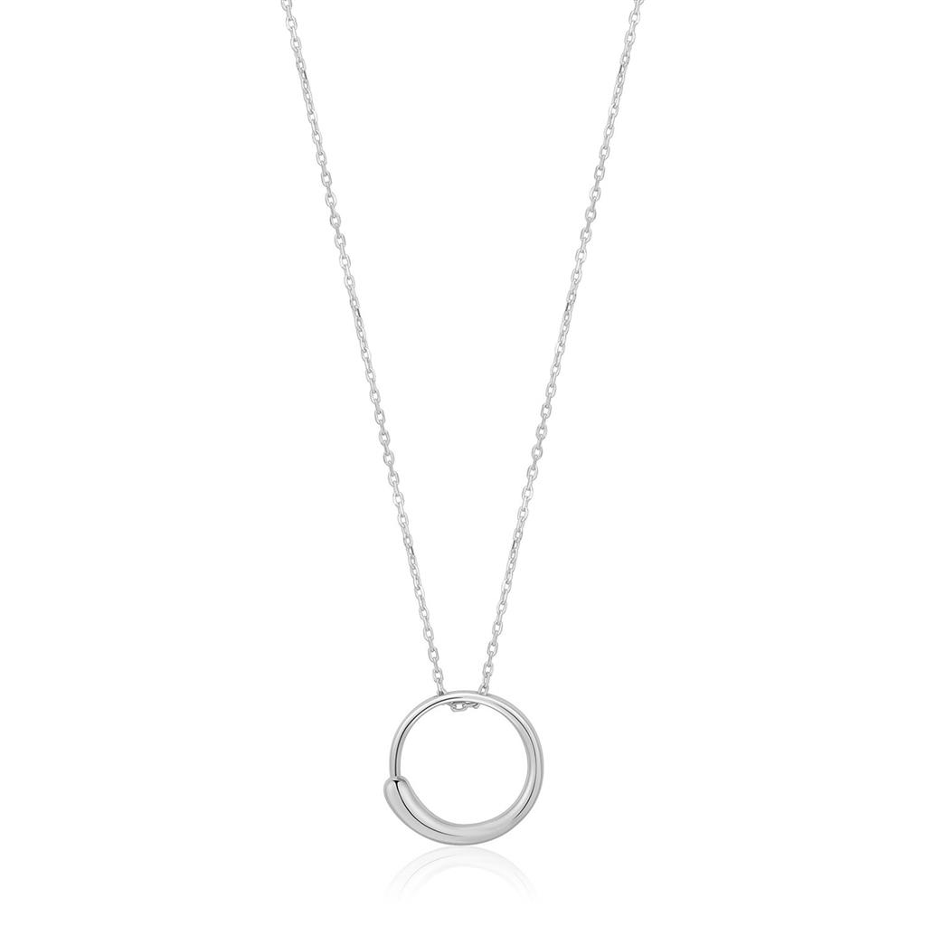 ANIA HAIE LUXE CIRCLE NECKLACE 925S