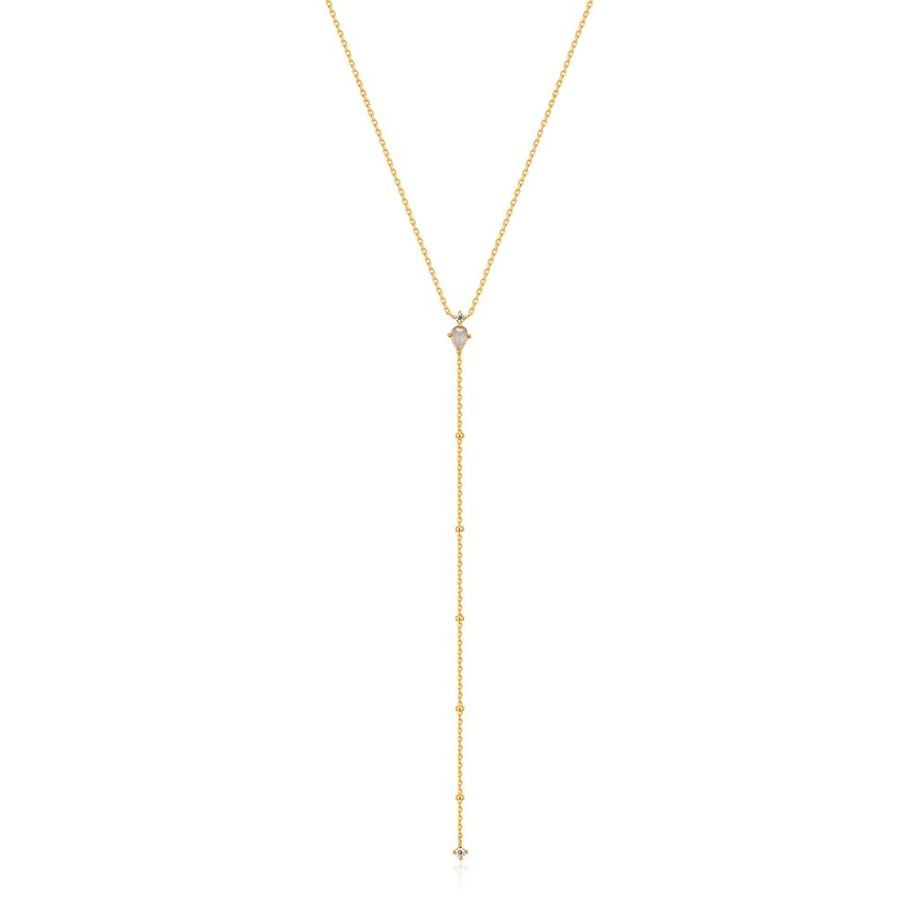 ANIA HAIE MIDNIGHT Y NECKLACE 925S