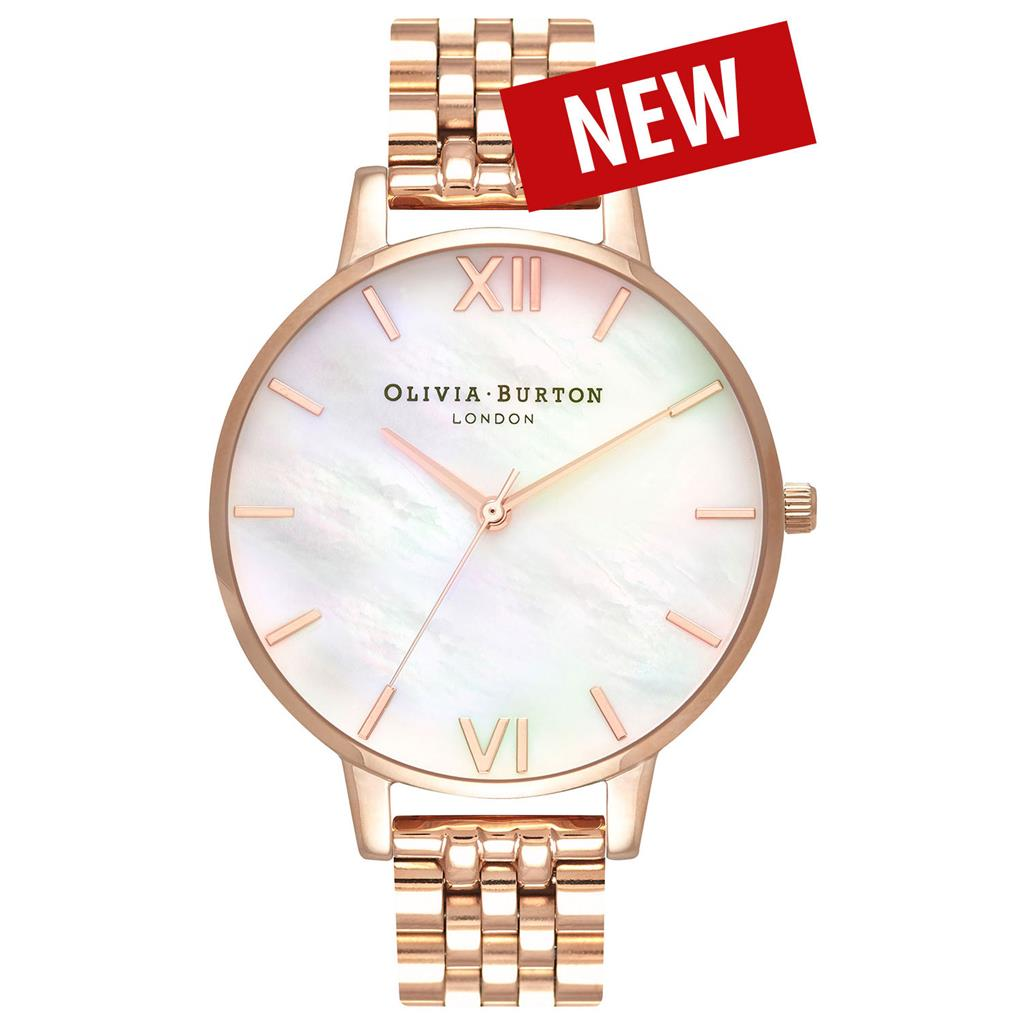 OLIVIA BURTON MOTHER OF PEARL BRACELET 38MM