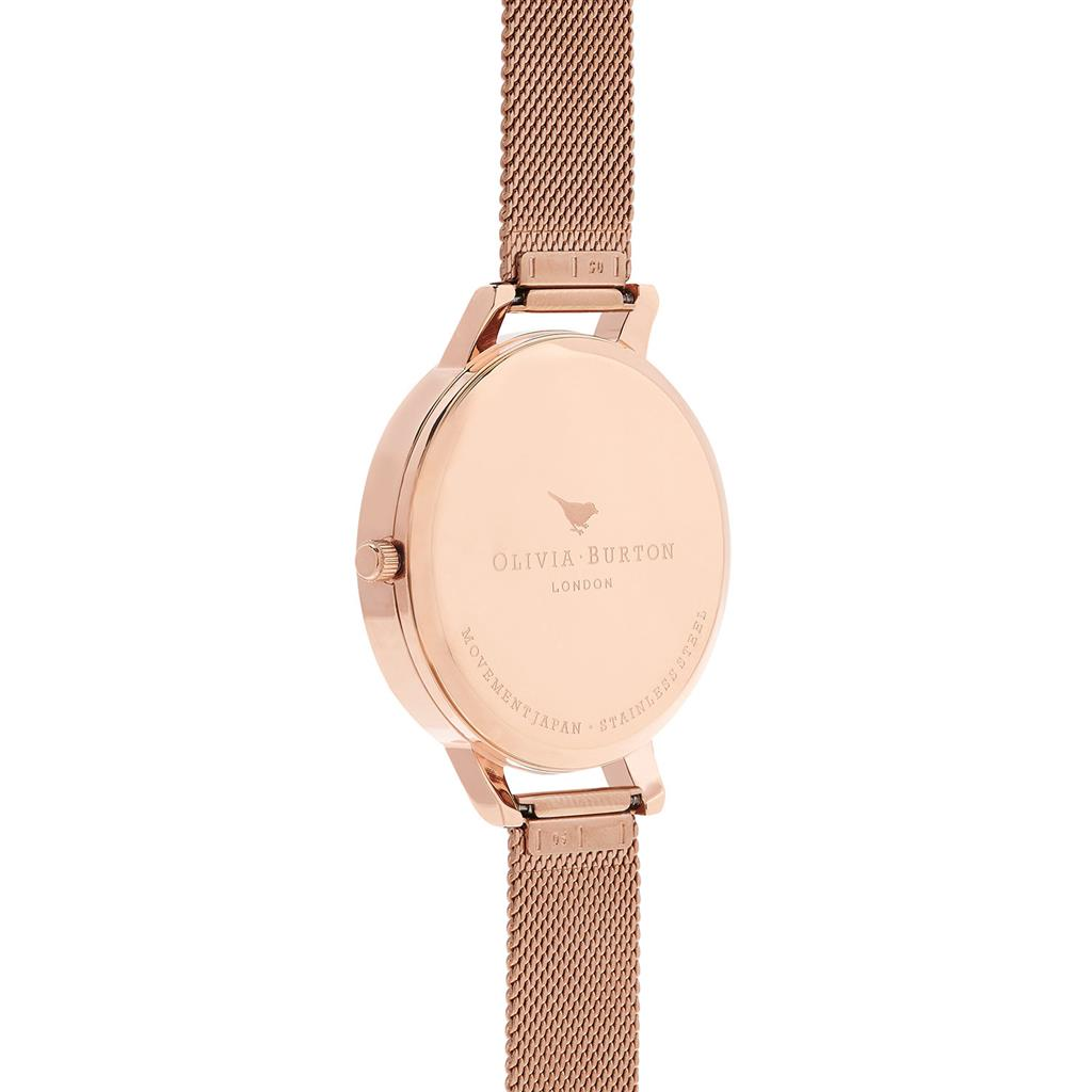OLIVIA BURTON DARK BOUQUET 38MM
