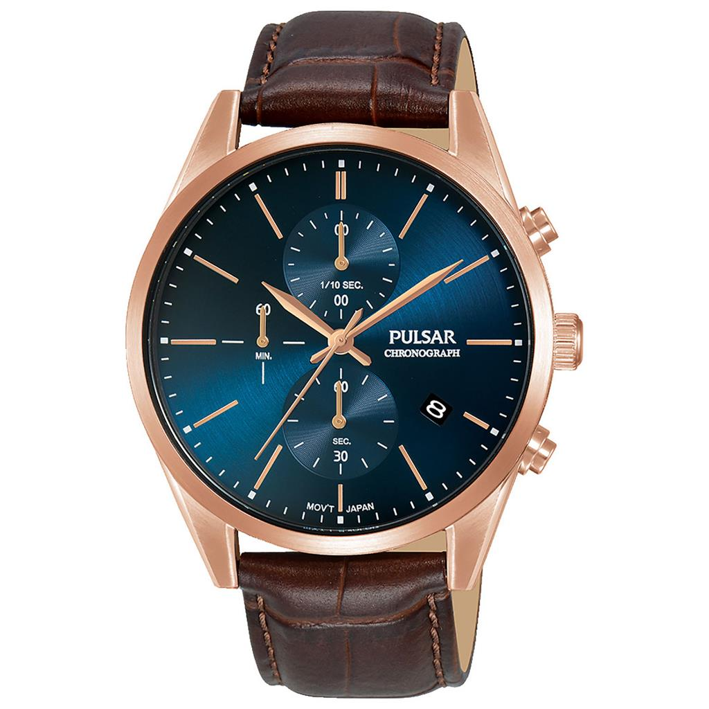PULSAR MENS 41MM 50M CHRONOGRAPH