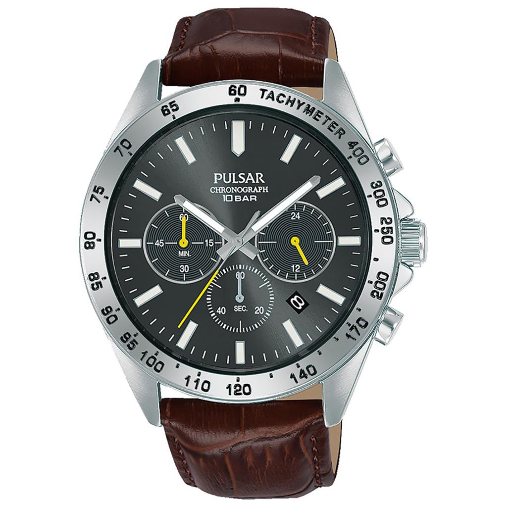 PULSAR MENS 43MM 100M CHRONOGRAPH