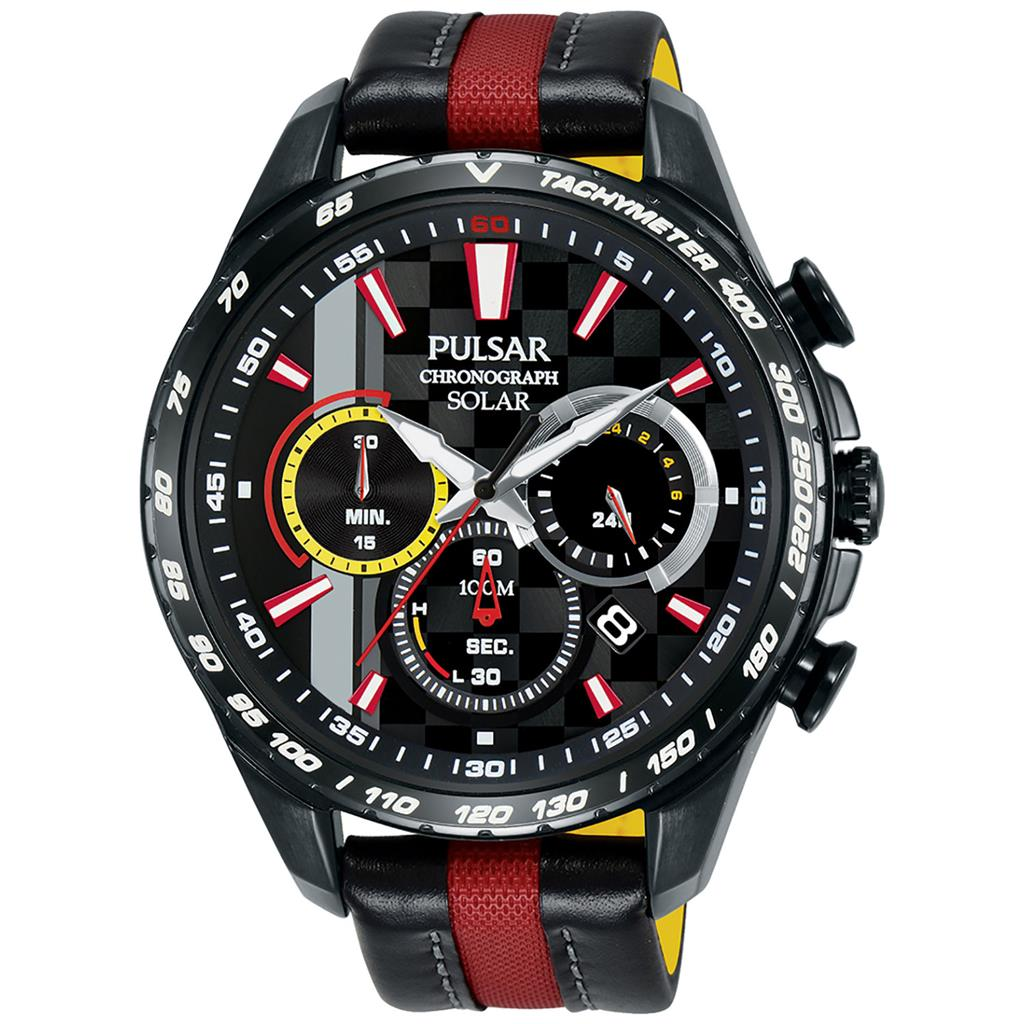 PULSAR SOLAR 45MM 100M CHRONOGRAPH LIMITED EDITION