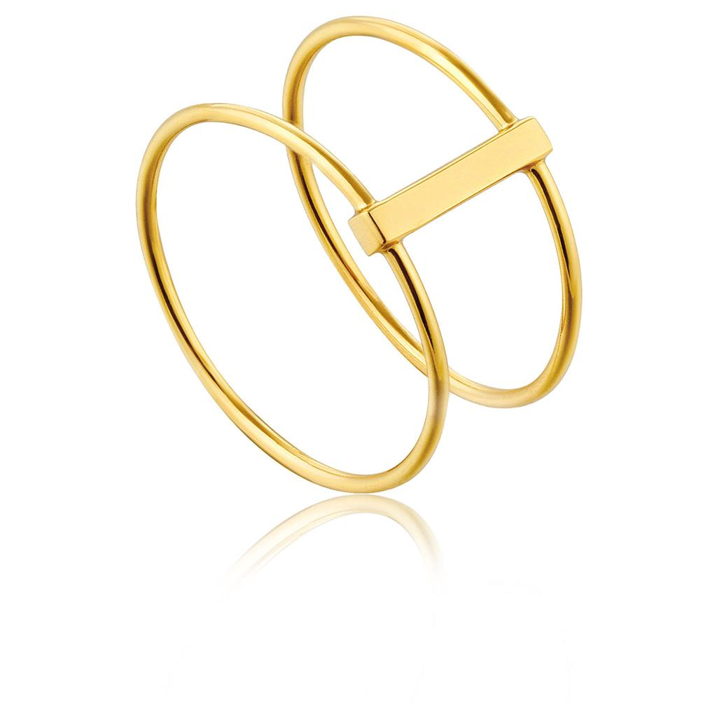 ANIA HAIE MODERN DOUBLE RING 925S
