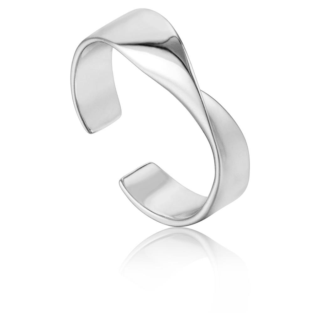 ANIA HAIE HELIX ADJUSTABLE RING 925S