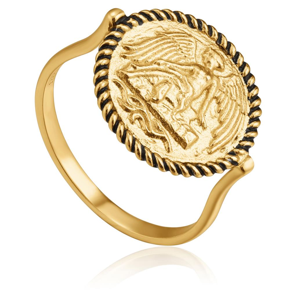 ANIA HAIE WINGED GODDESS RING 925S