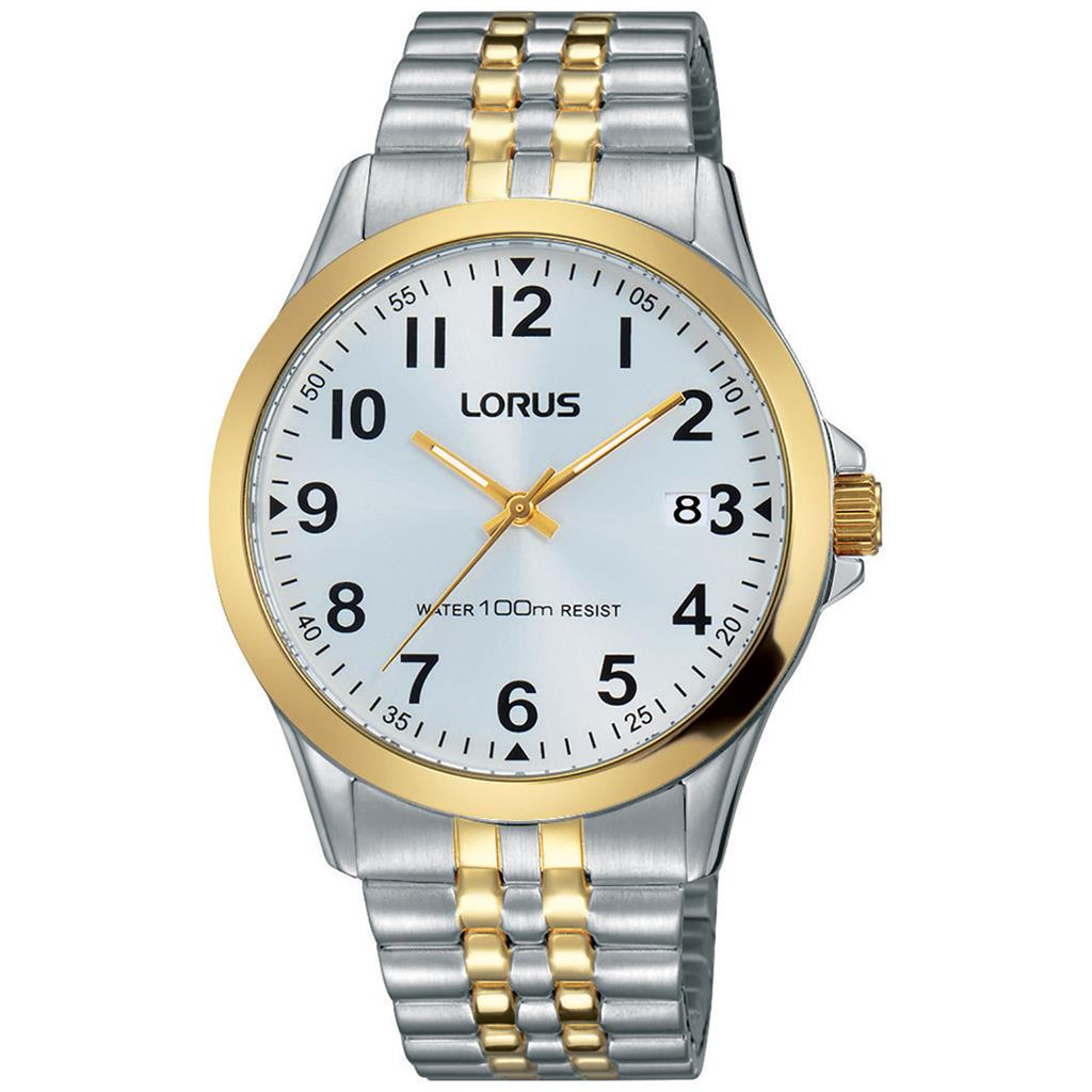 LORUS MENS 38MM 100M