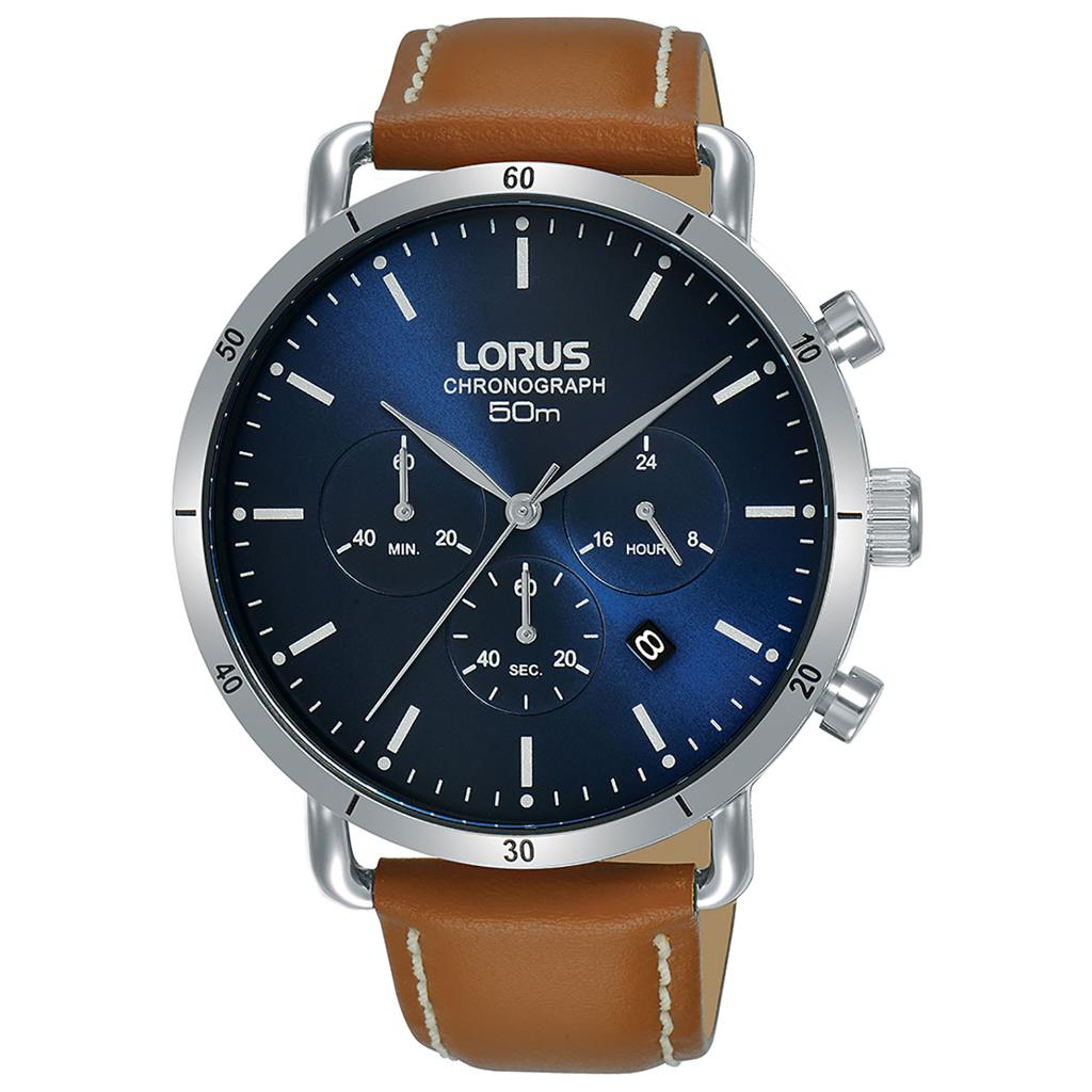 LORUS MENS 43MM 50M CHRONOGRAPH