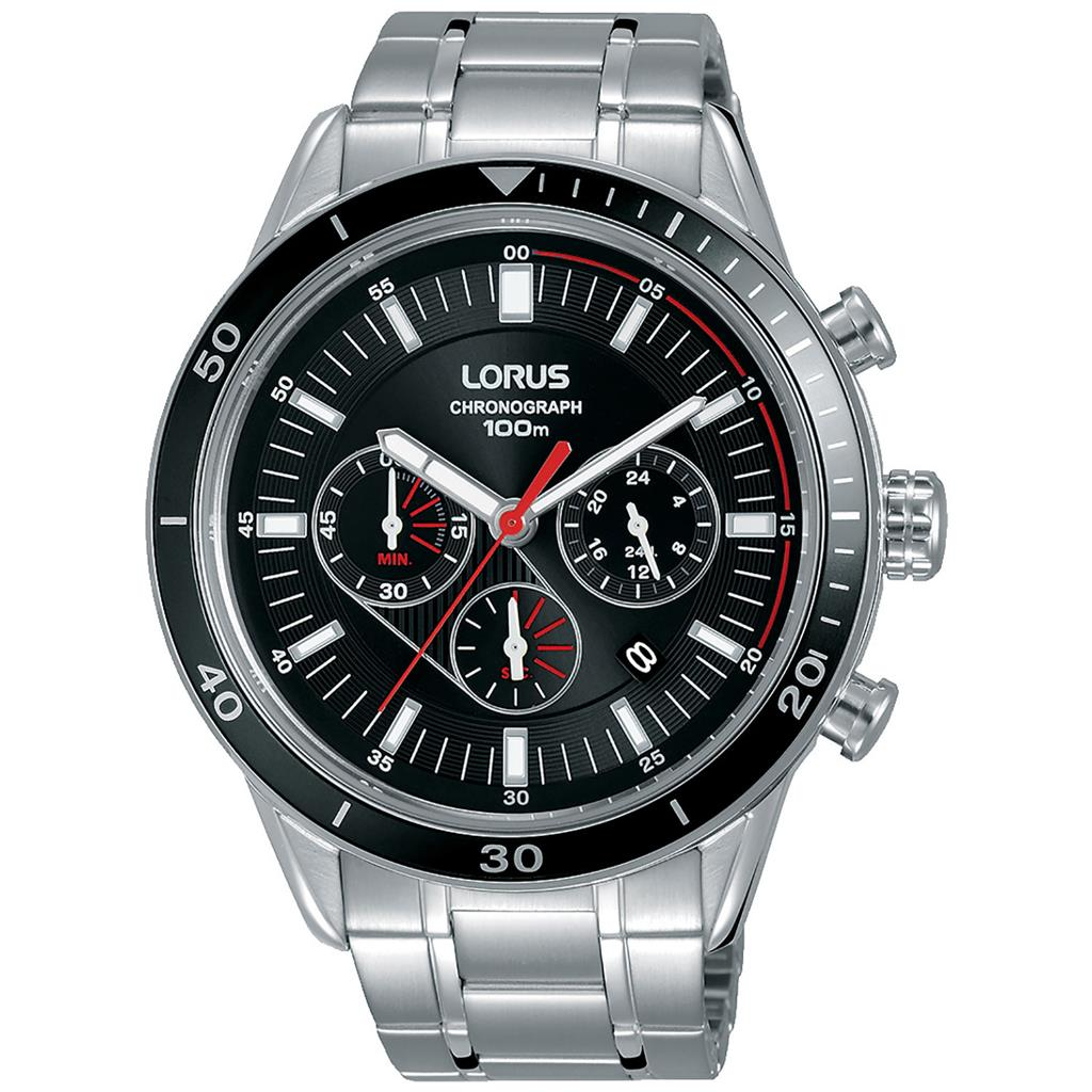 LORUS MENS 45MM 100M CHRONOGRAPH