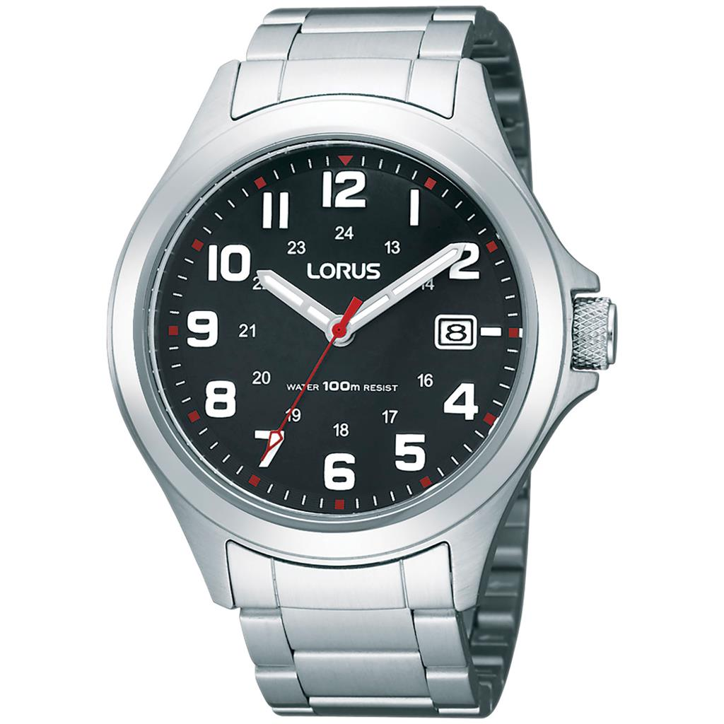 LORUS MENS 42MM 100M'