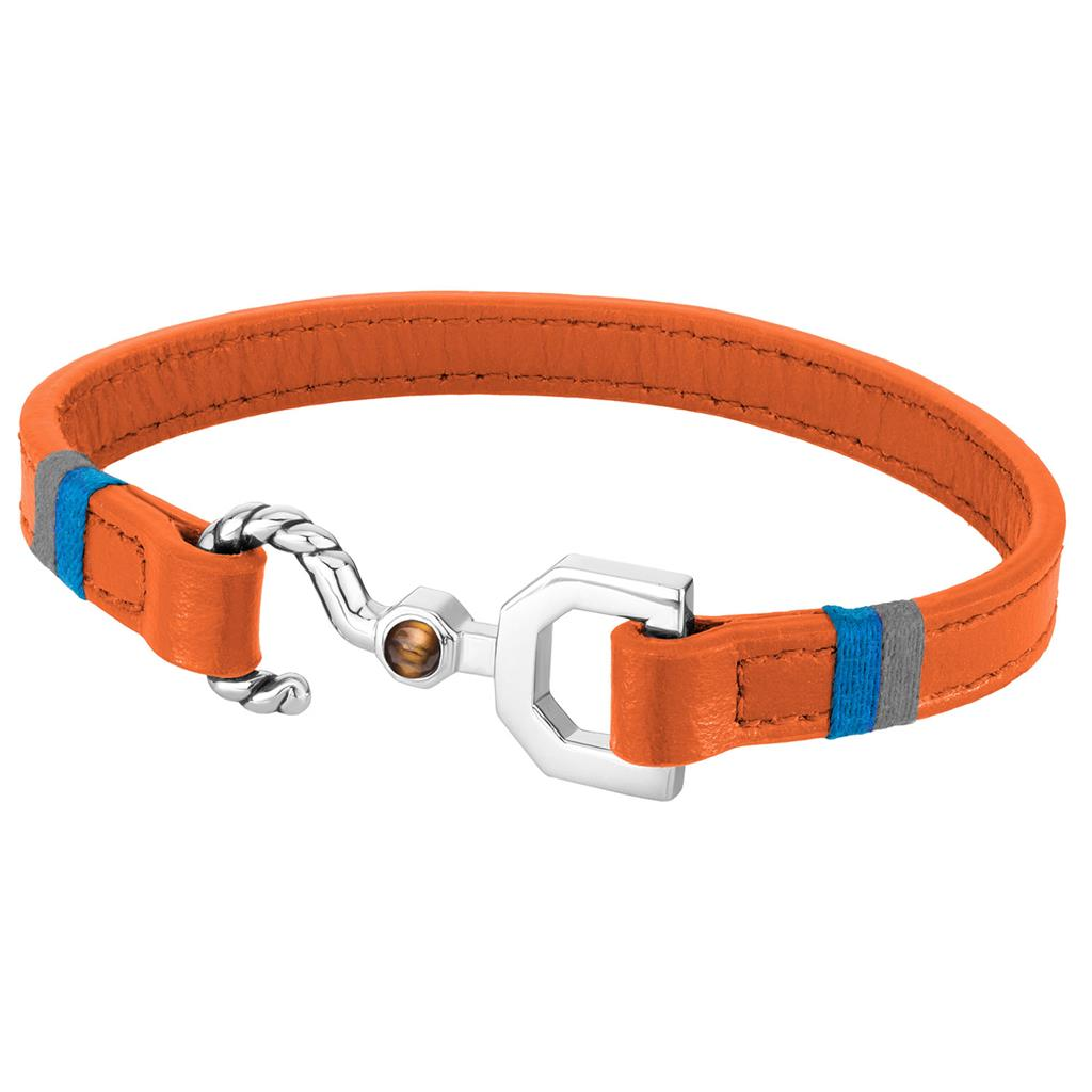 ZEADES BRACELET CPT CROCHET ORANGE SI - L