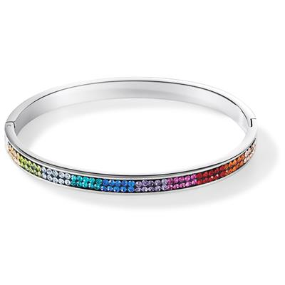 COEUR DE LION BANGLE MULTICOLOUR 19 CM