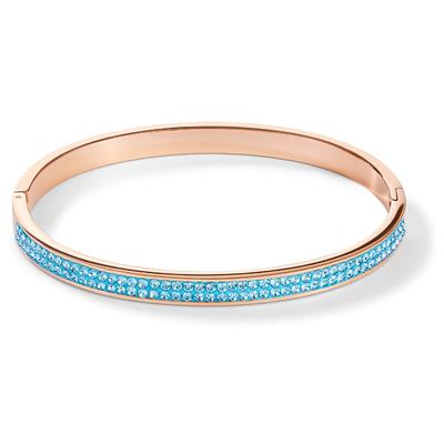 COEUR DE LION BANGLE AQUA 17 CM