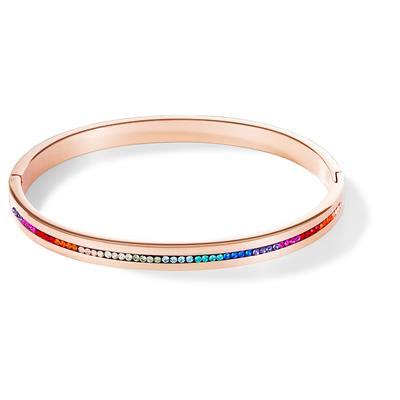 COEUR DE LION BANGLE MULTICOLOUR 17 CM
