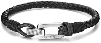 TOMMY HILFIGER CASUAL CORE BRAIDED FOLD-OVER CLASP