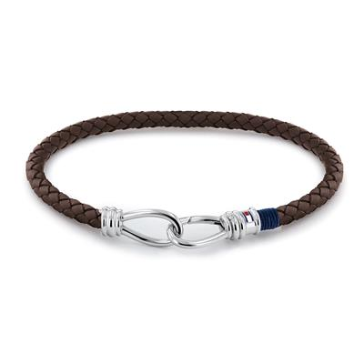 TOMMY HILFIGER DOUBLE HOOK BRACELET DARK 19CM