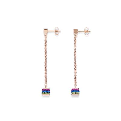 COEUR DE LION EARRINGS WITH STICKPIN