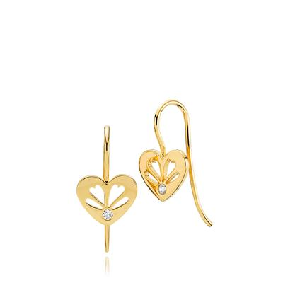 IZABEL CAMILLE SWEETHEART EARRINGS 925S