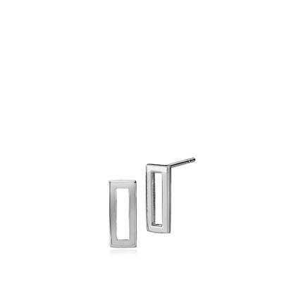 IZABEL CAMILLE TIME SQUARE SMALL EARRINGS 925S