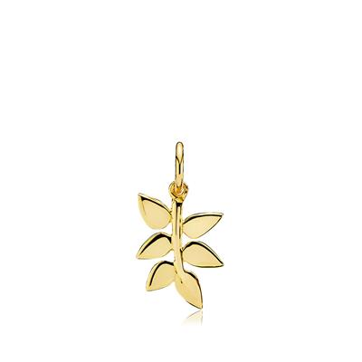 IZABEL CAMILLE PENDANT SHINY GOLDPL.SILVER-POETRY