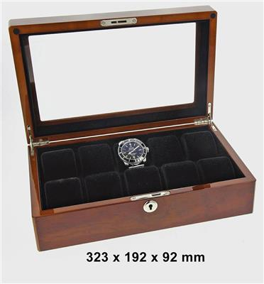WATCH BOX FOR 10 WATCHES BUVINGA 323 X 192 X 92 MM