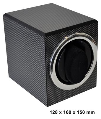 WATCH WINDER 1 WATCH (CARBON FIBER) BATT.  DRIVEN