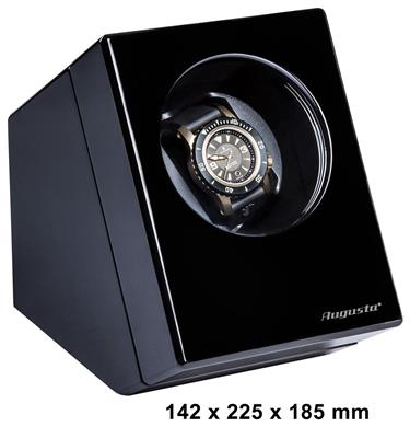 WATCH WINDER 1 WATCH (BLACK) WITH ADAPTER