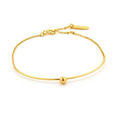 ANIA HAIE ORBIT SOLID BAR BRACELET 925S