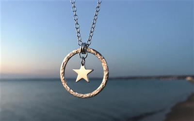STAR FLOWER HANDMADE 925S Ø29MM