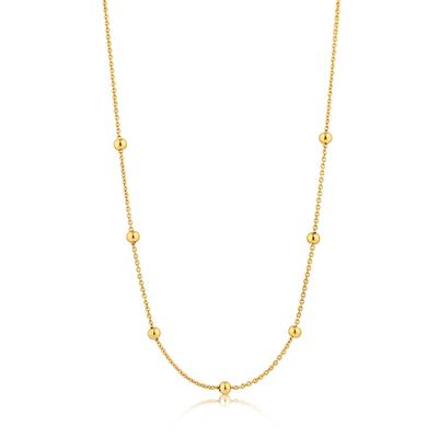 ANIA HAIE ORBIT BEADED NECKLACE 925S