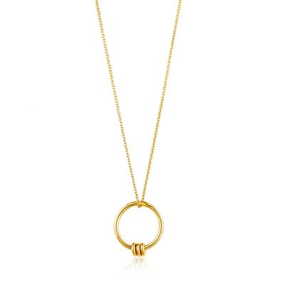 ANIA HAIE MODERN CIRCLE NECKLACE 925S