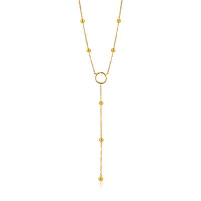 ANIA HAIE MODERN CIRCLE Y NECKLACE 925S