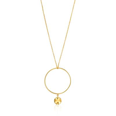 ANIA HAIE RIPPLE CIRCLE NECKLACE 925S