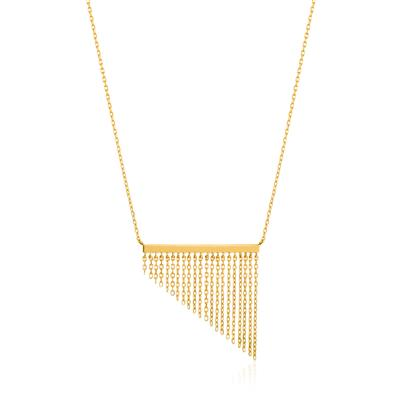 ANIA HAIE FRINGE FALL NECKLACE 925S