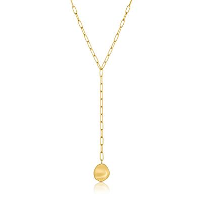 ANIA HAIE CRUSH DISC Y NECKLACE 925S