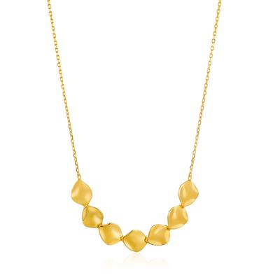 ANIA HAIE CRUSH MULTIPLE DISCS NECKLACE 925S