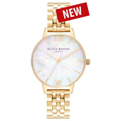 OLIVIA BURTON MOTHER OF PEARL BRACELET 30MM