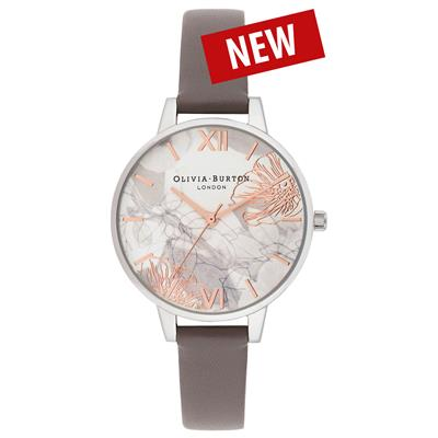 OLIVIA BURTON ABSTRACT FLORALS 34MM