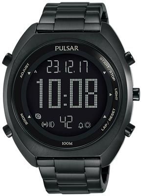 PULSAR MENS 45MM 100M CHRONOGRAPH