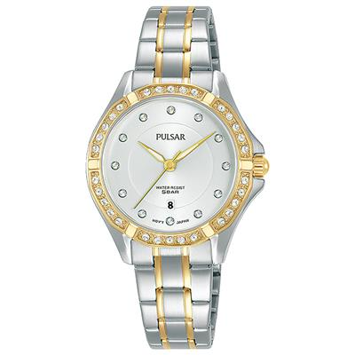 PULSAR LADIES 30MM 50M 42 CRYSTALS