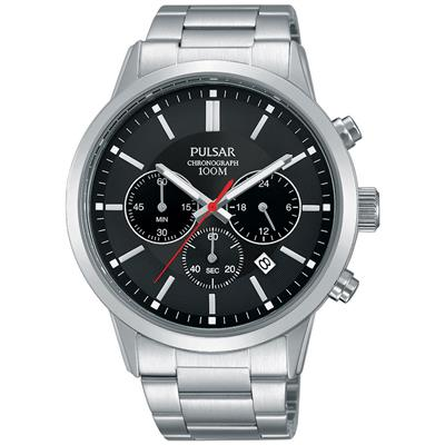 PULSAR MENS 43MM 100M CHRONOGRAPH'