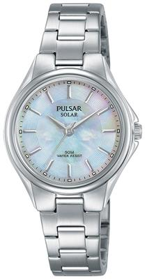 PULSAR SOLAR 29MM 50M MOTHER OF PEARL DIAL