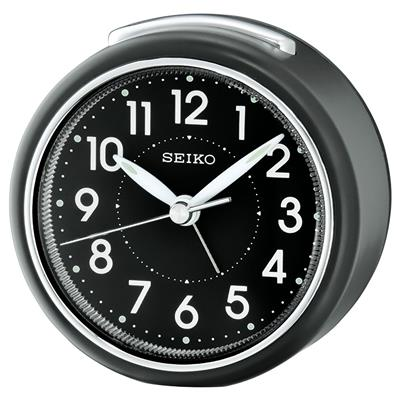 SEIKO ALARM CLOCK 8X8X5CM SWEEP SNOOZE LIGHT'
