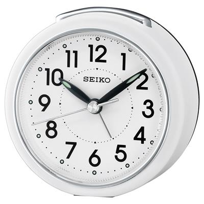 SEIKO ALARM CLOCK  8X8X5CM SWEEP SNOOZE  LIGHT