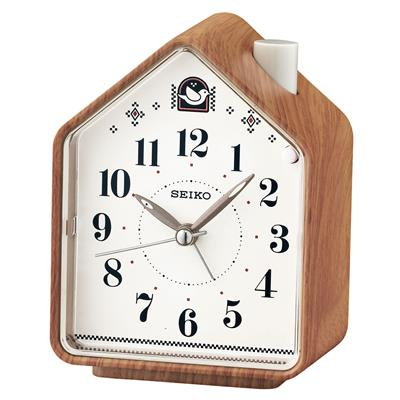SEIKO ALARM CLOCK 11X9X6CM SWEEP SNOOZE LIGHT