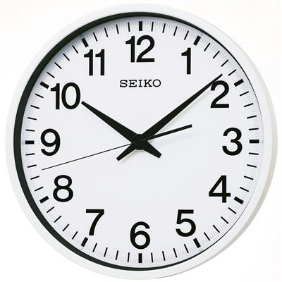 SEIKO WALL CLOCK Ø45x8CM SWEEP OUTDOOR SATELITE